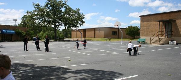 Blacktop Playground area